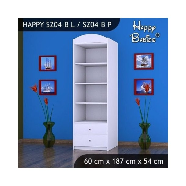 Dětská skříň - TYP 4A