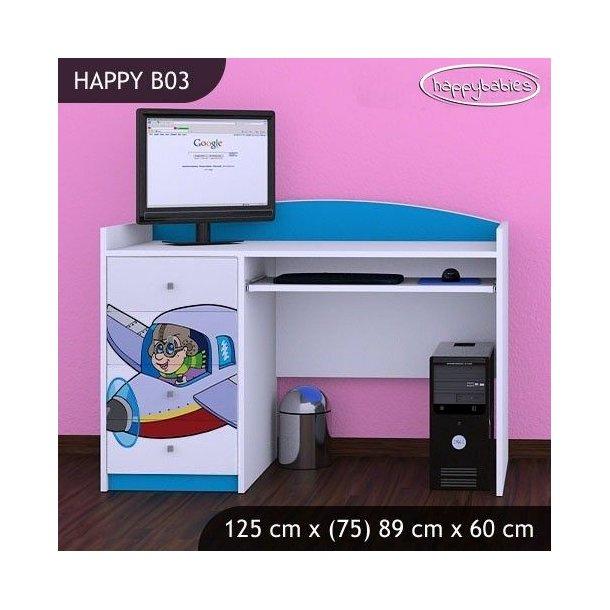 Dětský psací stůl LETADLO - TYP 3