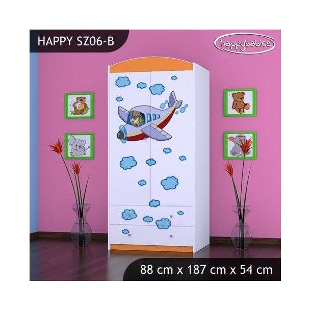 Dětská skříň LETADLO - TYP 6B