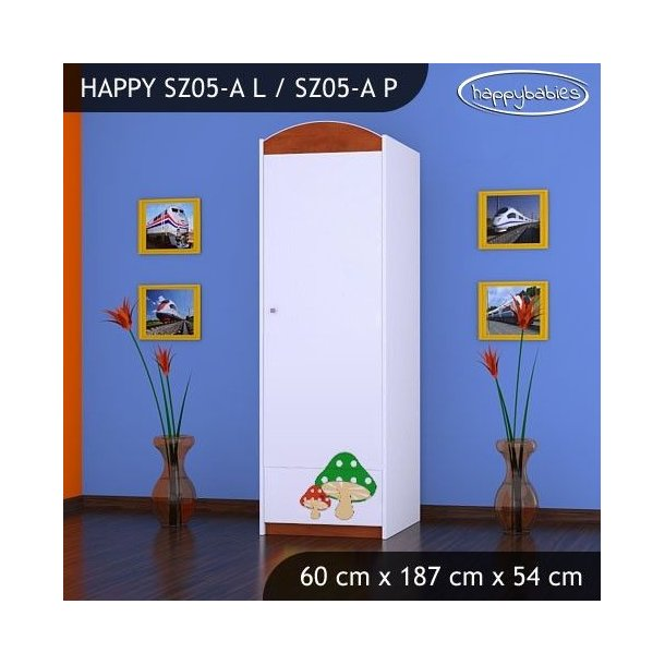 Dětská skříň - TYP 5A