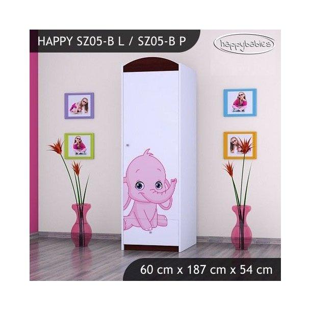 Dětská skříň - TYP 5B