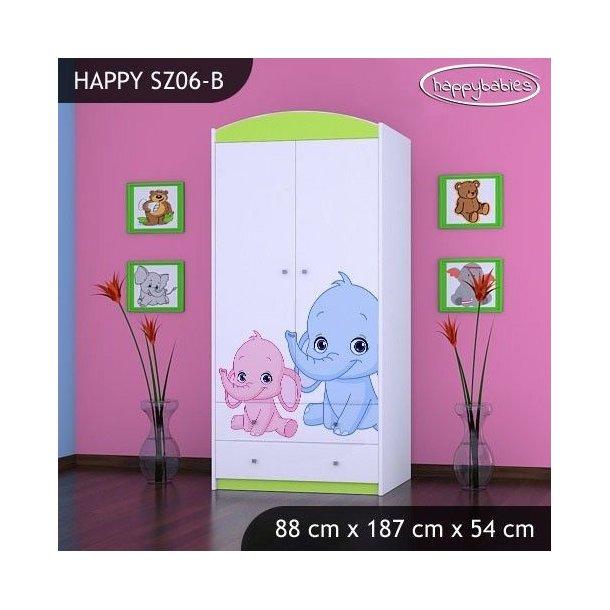 Dětská skříň - TYP 6B