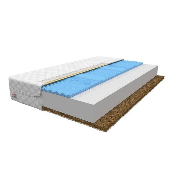 Pěnová matrace EXTRA 200x90x12 cm - HR/kokos