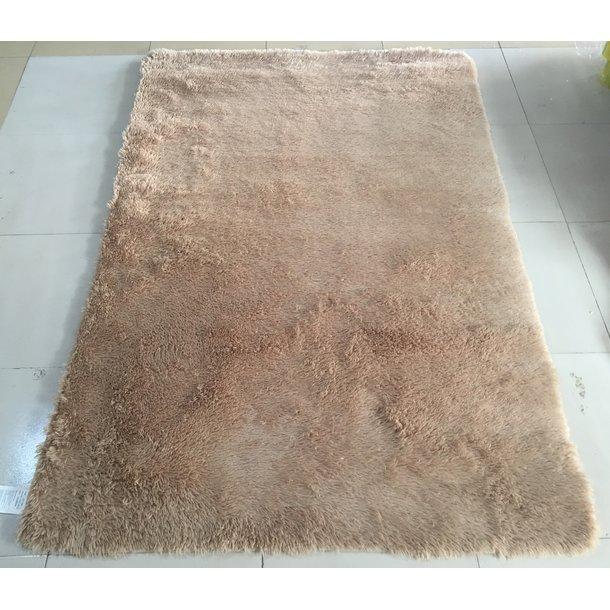 Plyšový koberec TOP - SVĚTLE BÉŽOVÝ