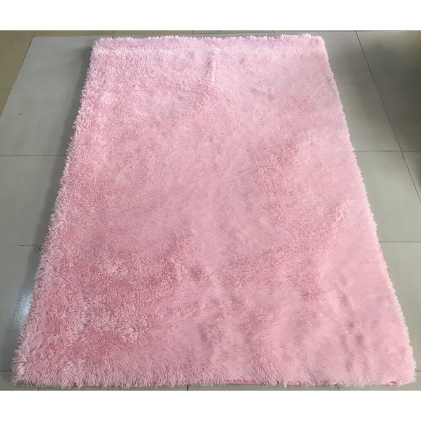 Plyšový koberec TOP - SVĚTLE RŮŽOVÝ