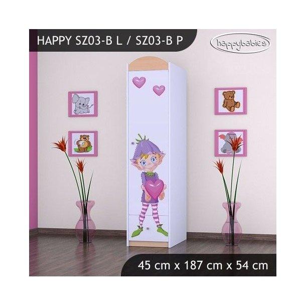 Dětská skříň - TYP 3B