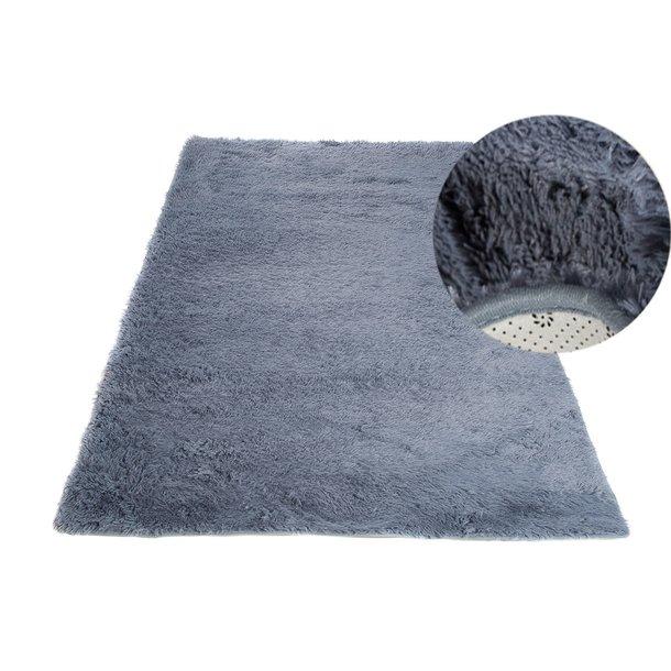 Plyšový koberec TOP - ŠEDÝ