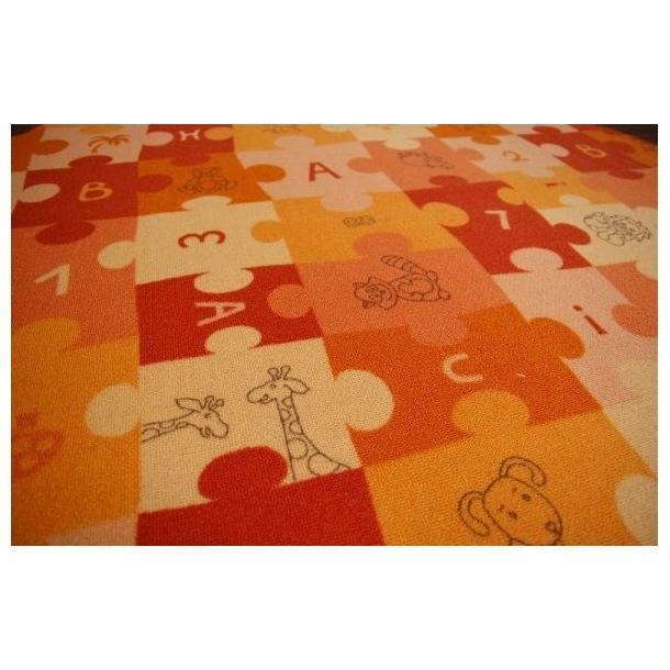 Dětský kulatý koberec