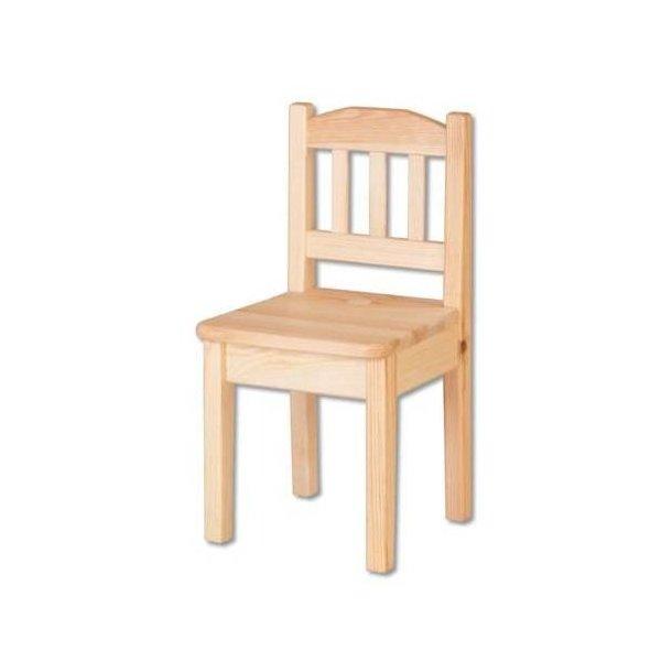 Dětská dřevěná jídelní židlička z masivu borovice
