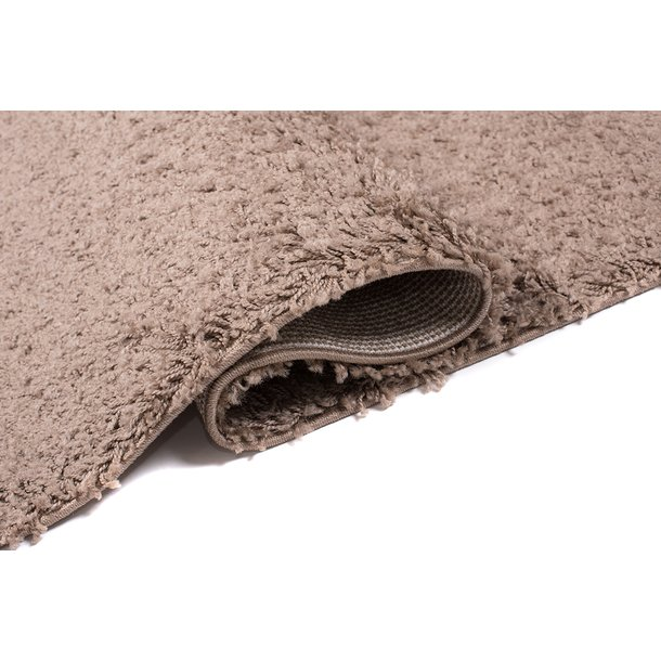 Moderní koberec SHAGGY PORTO - tmavě béžový