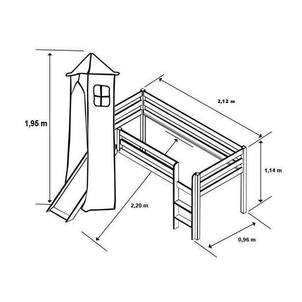 Rozměr vyvýšené postele