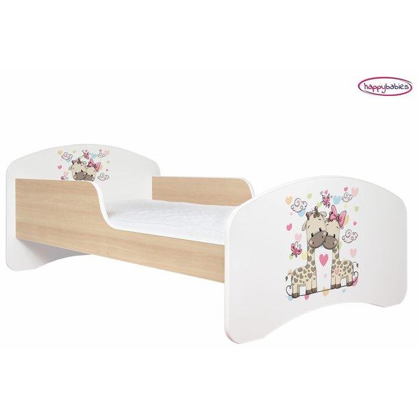 Dětská postel bez šuplíku ZAMILOVANÉ ŽIRAFY