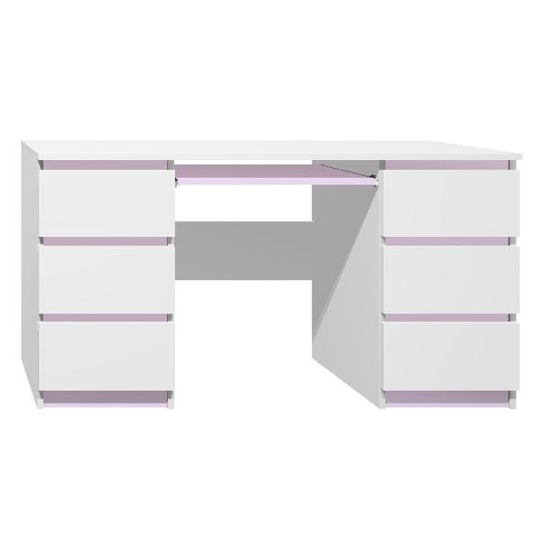 Psací stůl - CITY TYP B - fialová