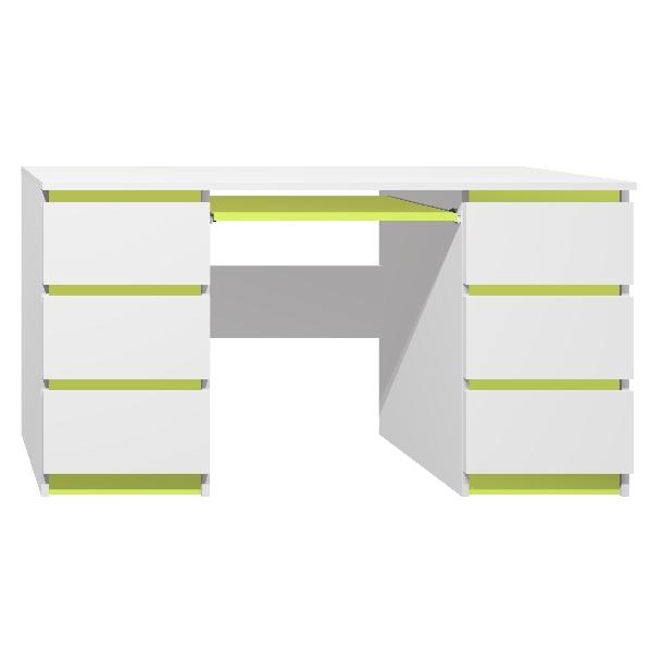 Psací stůl - CITY TYP B - zelená