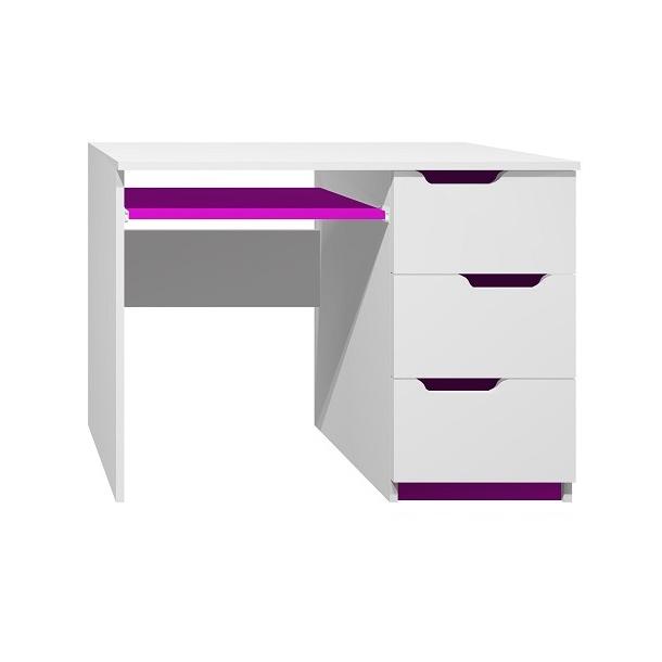Psací stůl - MODERN TYP A - tmavě fialová
