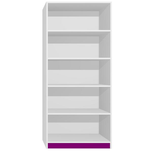 Regál - CITY TYP C - tmavě fialová
