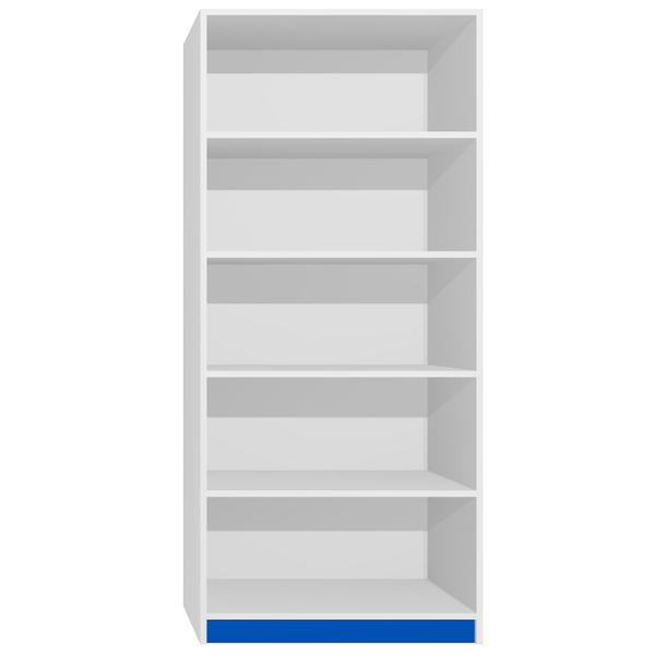Regál - CITY TYP C - tmavě modrá