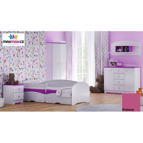 Barevné provedení - fialová / bílá