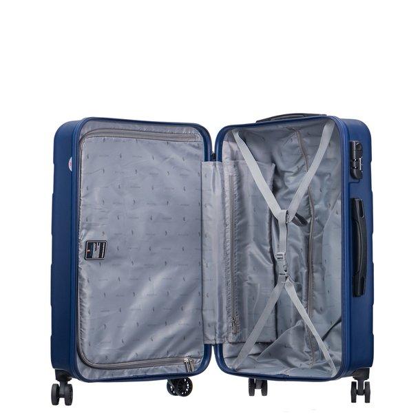 Moderní cestovní kufry ATLANTA - modré