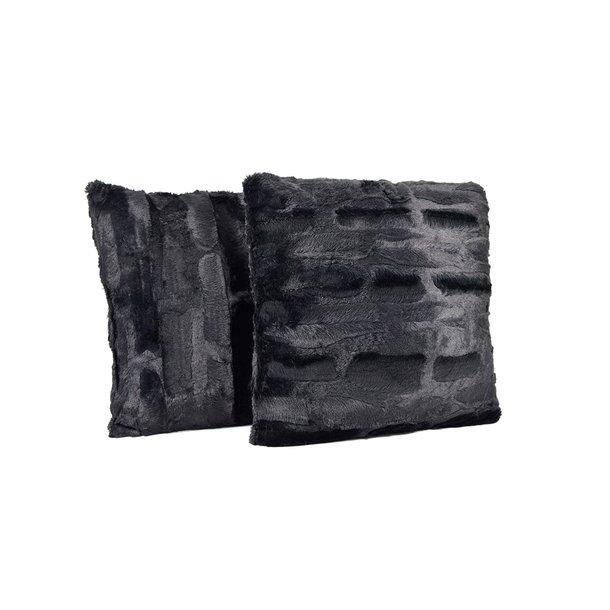 Povlak na polštář BONI 40x40 cm - černý