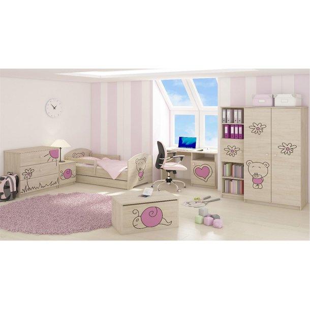 Dětský pokoj s výřezem MÉĎA - Dub sonoma
