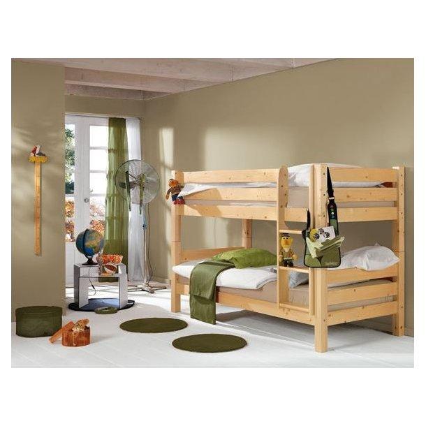 Dětská PATROVÁ postel BARČA - přírodní
