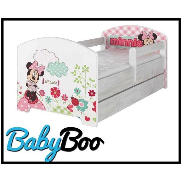Dětská postel Disney - MYŠKA MINNIE 160x80 cm