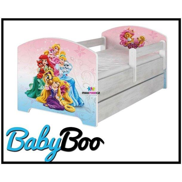 SKLADEM: Dětská postel Disney - PALACE PETS 160x80 cm