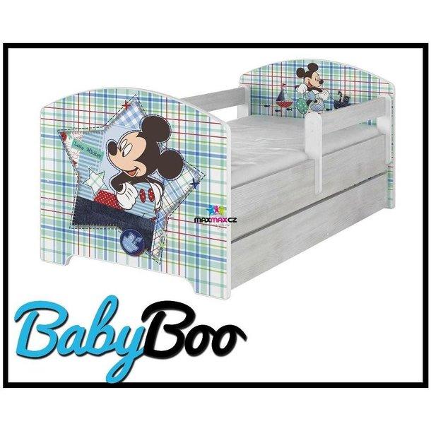 Dětská postel Disney - MICKEY MOUSE 160x80 cm