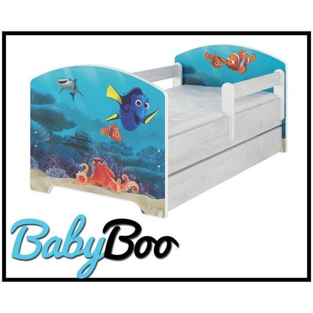 Dětská postel bez šuplíku Disney - HLEDÁ SE NEMO 160x80 cm