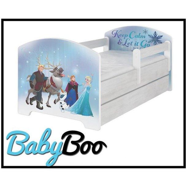 SKLADEM: Dětská postel bez šuplíku Disney - LEDOVÉ KRÁLOVSTVÍ 140x70 cm