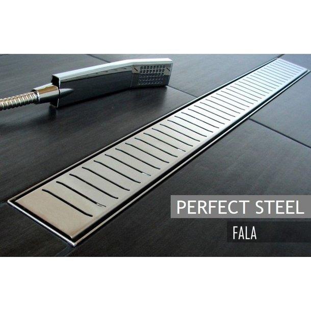 Odtokový sprchový žlab FALA steel