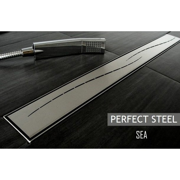 Odtokový sprchový žlab SEA steel