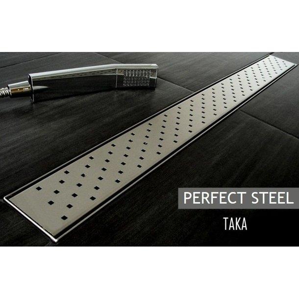 Odtokový sprchový žlab TAKA steel
