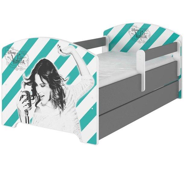 SKLADEM: Dětská postel Disney - VIOLETTA 160x80 cm