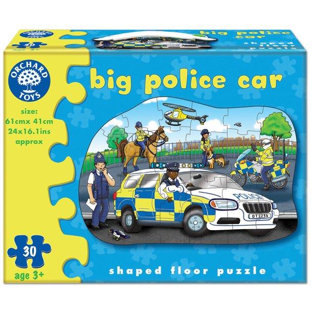 Puzzle Velké policejní auto - 30 dílků