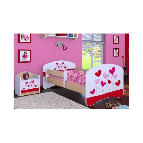 Dětská postel bez šuplíku 140x70cm LOVE
