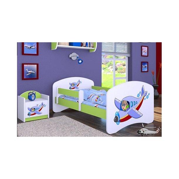 Dětská postel bez šuplíku 140x70cm LETADLO