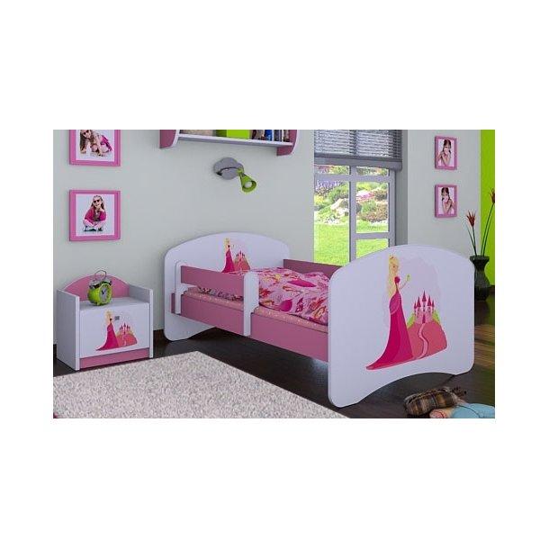 Dětská postel bez šuplíku 140x70cm PRINCEZNA A HRAD