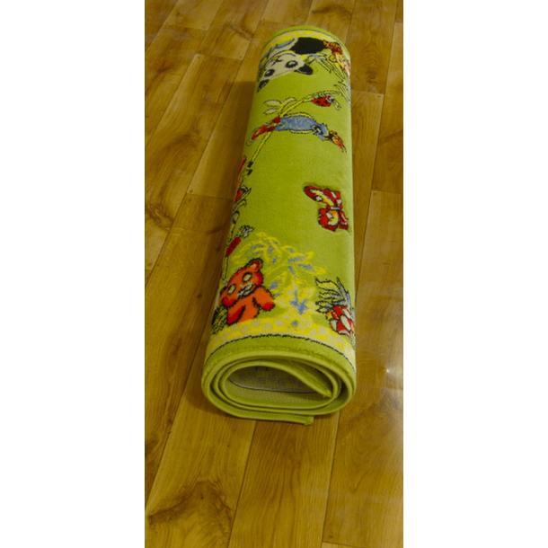Dětský koberec FUNKY ZOO green