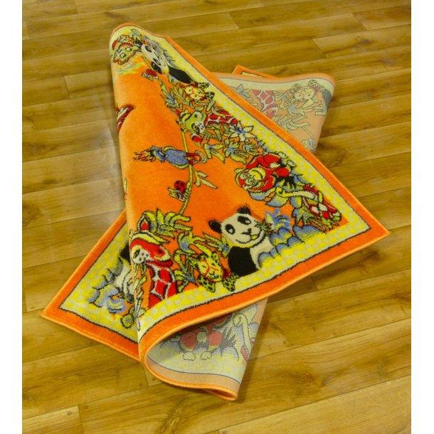 Dětský koberec FUNKY ZOO orange