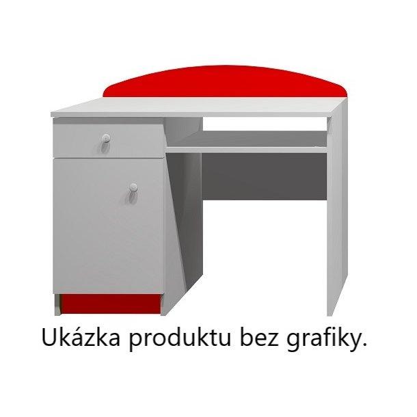 Psací stůl ČERVENÝ SPORŤÁK - TYP A