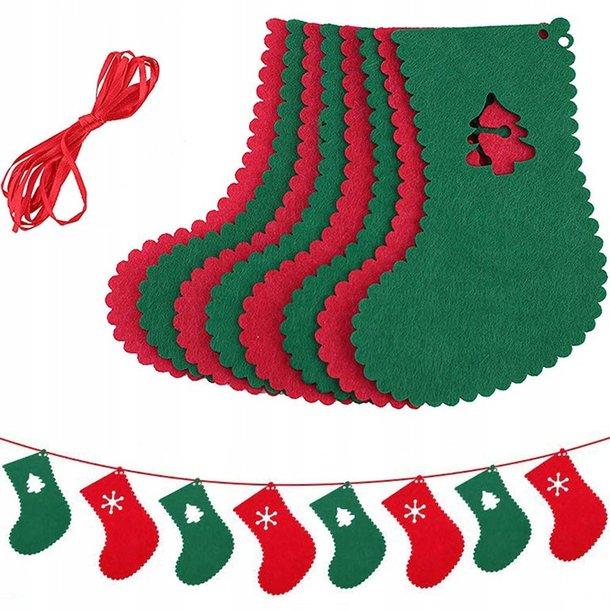 Girlanda - ponožky