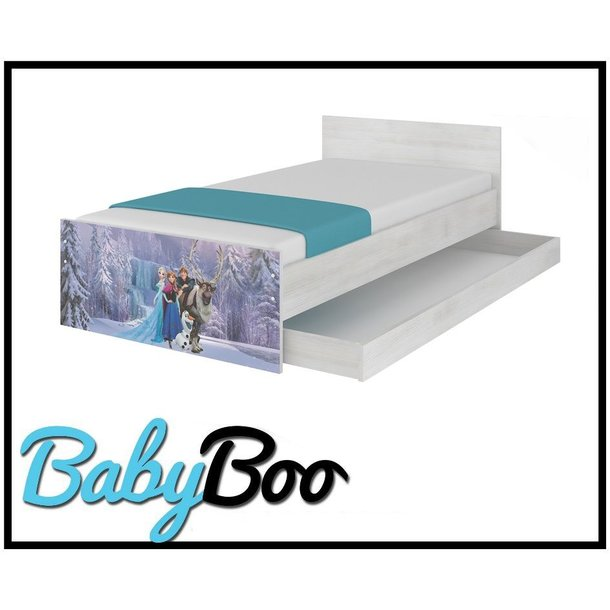 SKLADEM: Dětská postel MAX bez šuplíku Disney - FROZEN II 160x80 cm