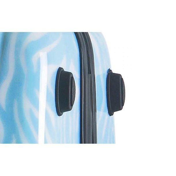 Cestovní kufry ZEBRA - modré