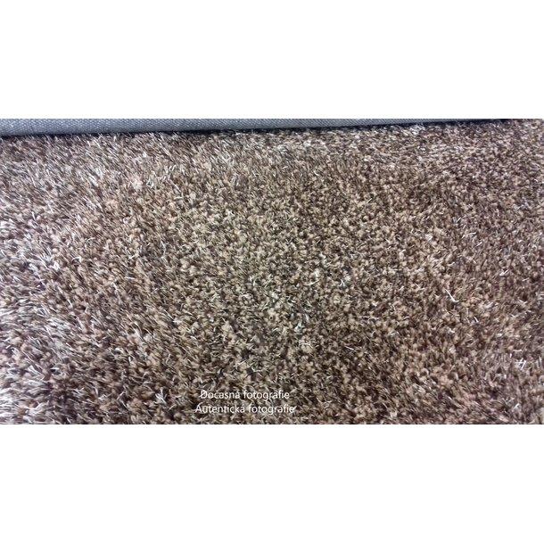 Kusový koberec Shaggy MAX velvet - béžový