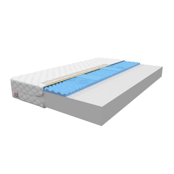 Pěnová matrace COMFORT 200x90x12 cm - HR pěna