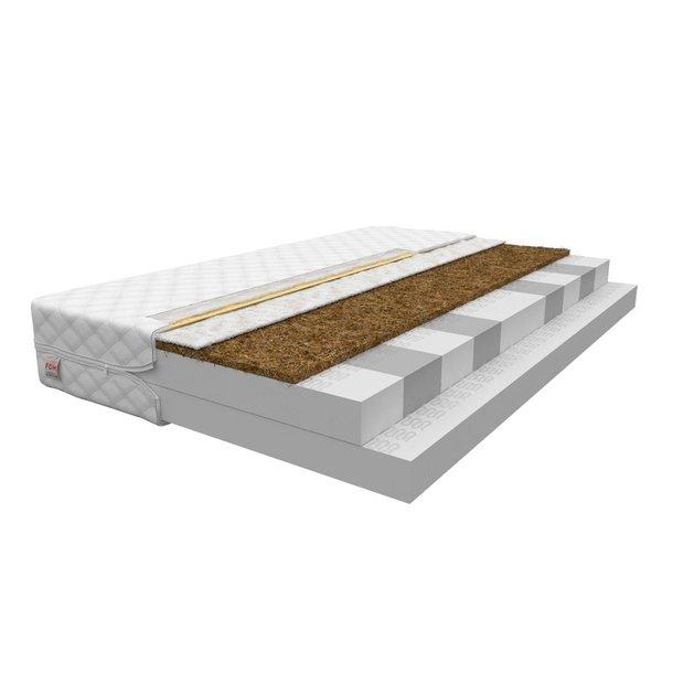 Pěnová matrace COCO 200x160x14 cm - HR pěna/kokos