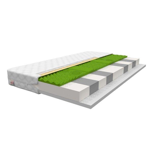 Dětská matrace ADRIA 180x80x11 cm - pěna/HR pěna