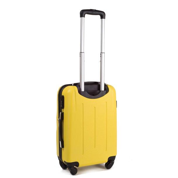 Moderní cestovní kufry CADERE - metalické modré